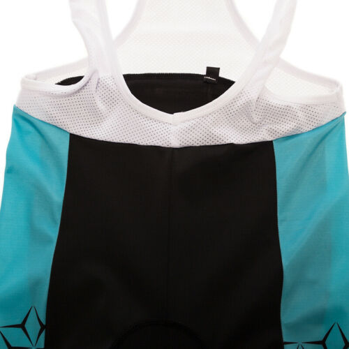 Men Cycling Bib Shorts Team Men/'s Bibs Pants with Padded Brace Tights Size S~3XL