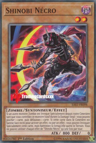 VF//Commune SAST-FR098 ♦Yu-Gi-Oh!♦ Shinobi Nécro Zombie - Syntoniseur