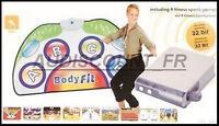 Console Jeu Video Sans Fil Sport Fitness Bodyfit + Tapis + 8 Jeux Neuf 60