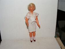 Alte franz. Celluloid-Puppe-SNF-Modeladen-Kaufladen-Puppenhaus-Puppenstube