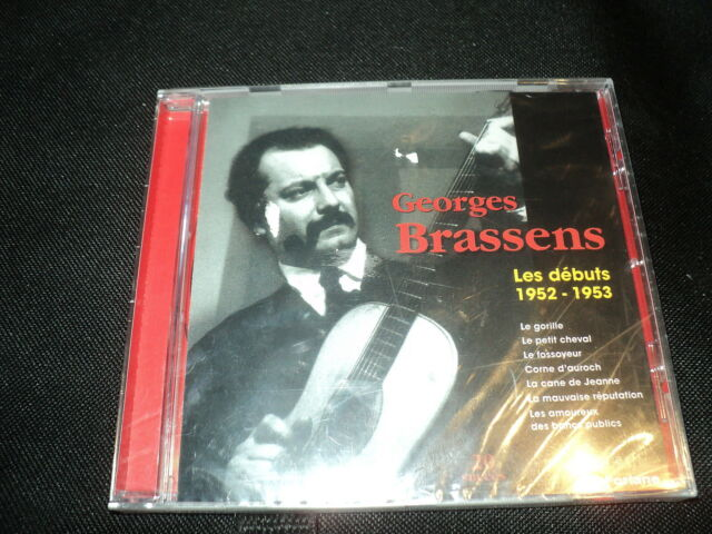 "CD NEUF ""GEORGES BRASSENS, LES DEBUTS 1952-1953"""