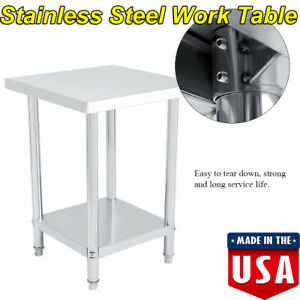 Commercial-Kitchen-Restaurant-Stainless-Steel-Work-Prep-Table-24-034-x-24-034