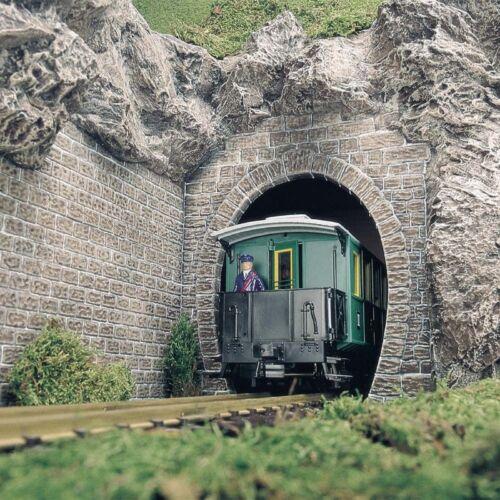 BUSCH 8610 Tunnelportale Dampflokportale 2 Stück Spur G Neu
