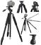 80-034-PROFESSIONAL-HEAVY-DUTY-TRIPOD-FOR-CANON-EOS-REBEL-5D-6D-7D-60D-70D-80D-T5 thumbnail 6