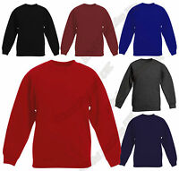 Kids Brand New Fleece Sweatshirts In Assorted Colours And Sizes Age 2-14 Years