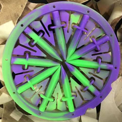NEW KM Rotor Loader DAGGER Spine Speed Feed Quick Feed System Purple Haze