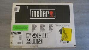 Weber Grill 1241304 Original Kettle Holzkohle Kugelgrill 47 Cm Neu