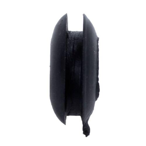 5 Pcs 8mm schwarz Durchgangstuellen Kabeldurchfuehrung Kabelfuehrung Gummitu C5T