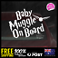 Baby-Muggle-On-Board-170x115mm-Harry-Potter-Dadlife-Mumlife thumbnail 1