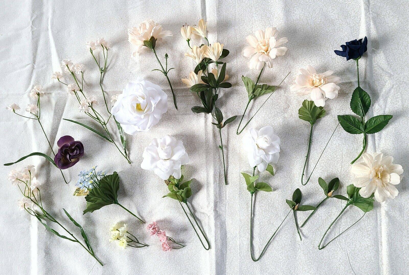 Vintage Millinery Flowers~1930s Velvet Flower Corsage~Vintage Flowers