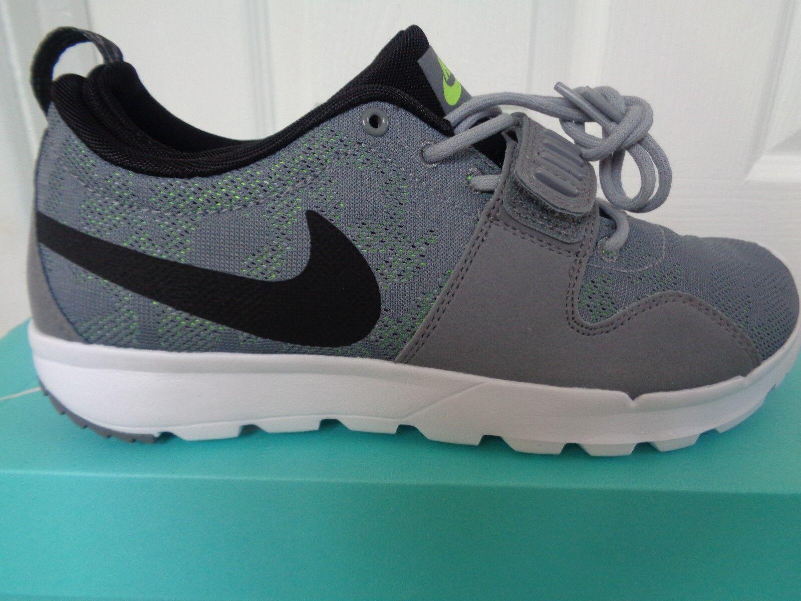 Nike SB Trainerendor Scarpe da Ginnastica Uomo Scarpe da ginnastica 616575 007 EU 40 US 7 Nuovo + Scatola