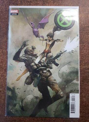 NM Huddleston 1:10 Incentive Variant Marvel X-Men POWERS OF X #4 2019
