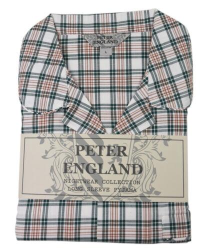 Peter England Green Open Check Warm Handle Pyjama