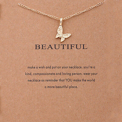 Women Charm Pendant Necklace Unicorn Gold Clavicle Chains Choker Jewelry Gift