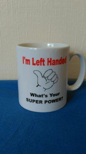 Tasse pour gaucher personnes Cadeau Idéal pour un anniversaire