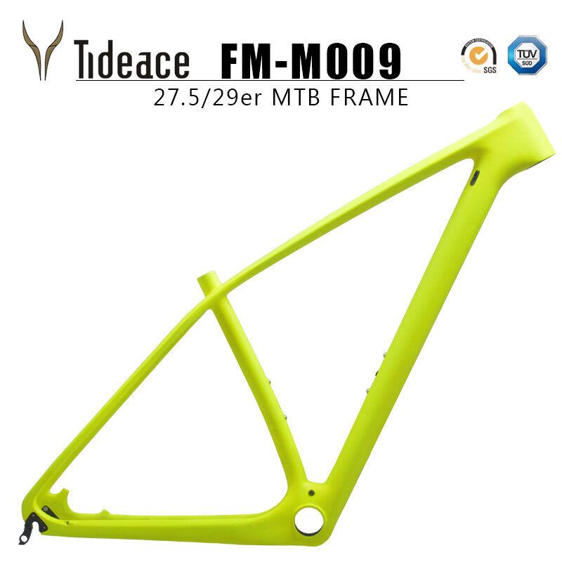 29er PF30 Carbon Fiber Mountain Bike Frame 15 17 19 21 inch MTB Matt Gloss Frame