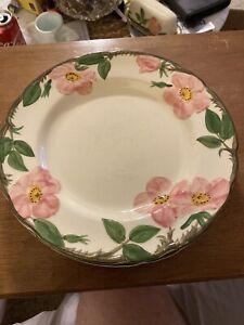 2-Franciscan-Desert-Rose-10-3-4-Dinner-Plate-Made-In-The-USA