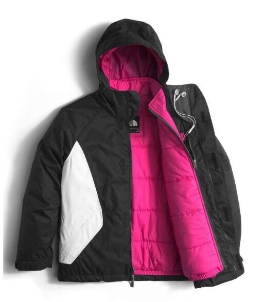 4b62a38d4 $170 NWT The North Face Girls Kira Triclimate 3-in-1 Jacket BLACK