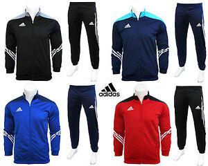 Adidas-Boys-Junior-Kids-Full-Zip-Tracksuit-Jogging-Top-Bottoms-Football-Age-5-16