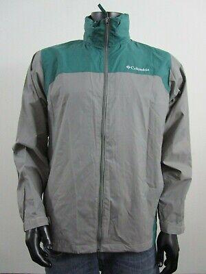 Olive NWT Mens M Columbia Glennaker Lake Packable Hooded Waterproof Jacket