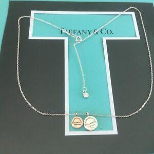 d611d82284c3 New. Tiffany   Co. Circle Duo Pendant  325 Rubedo Authentic