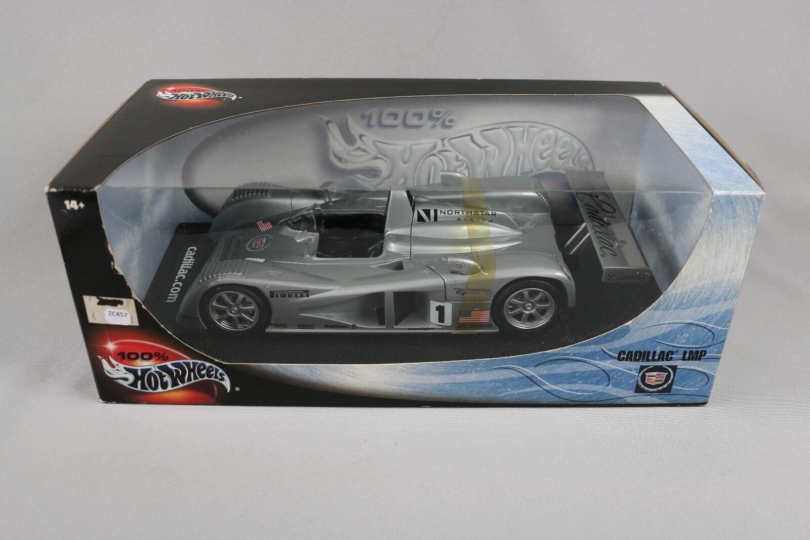 ZC457 Mattel Hot Wheels 29225 Miniature Voiture 1 18 Cadillac LMP 2000