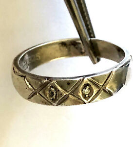 Image Is Loading Sterling Silver 925 Las Ring 4 64 Mm