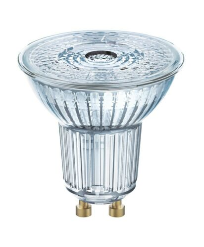 10x Osram DEL Base par16 verre gu10 projecteur 3.6 W = 50 W 36 ° Blanc Chaud 2700k GERMANY