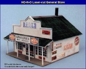 Blair-Line-180-Blairstown-General-Store-Geschaeft-Ladengeschaeft-H0-1-87-Laser-Cut