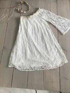 Vintage Boho Wedding Dress Ebay