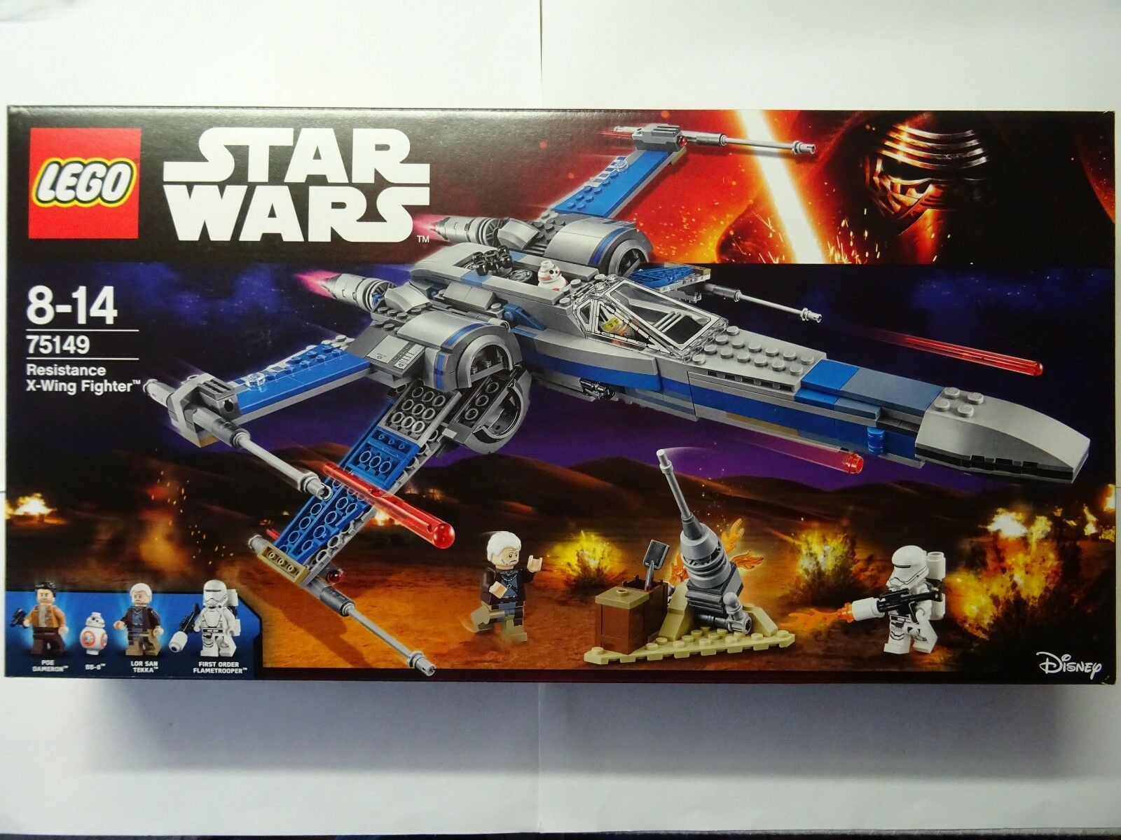 Lego Star Wars - (Boite) - Resistance X-Wing Fighter - N°75149 - Neuf