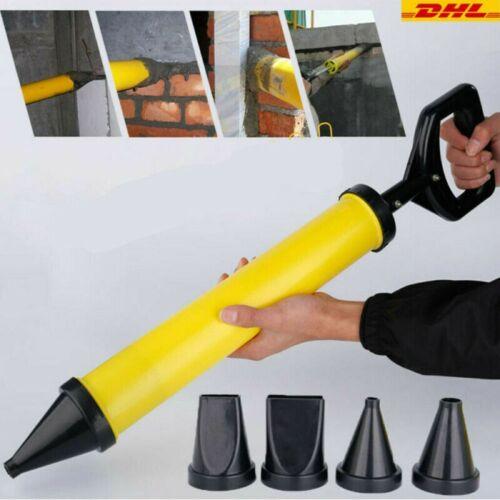 4 Düse Zubehör DHL Fugenpistole Mörtel Mörtelpresse Mörtelspritze Mörtelpumpe