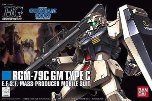 Bandai Hguc 1/144 Rgm-79c Gm Typ C Plastik Modellbau Set Gundam 0083 Aus Japan Transformers & Roboter