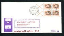 FDC met postzegelboekje PB 34a, Philato, blanco/open
