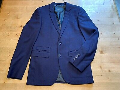 Sakko Digel Move Gr. 44 Modell Nick Blau Farbe 22 Zwei Knöpfe Wie Neu GläNzend
