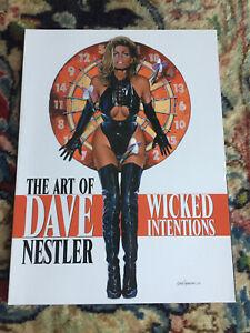 Copieux The Art Of Dave Nestler Wicked Intentions - Art Book PréVenir Et GuéRir Les Maladies