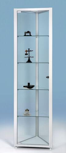 Für Sammler Glasvitrine standvitrine für Museen H190x50x50x50 F-5 Delta