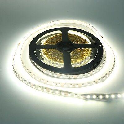 White 2835 SMD 120leds/m Non-waterproof Flexible Strip Light 5M 12V Fairy Lamp