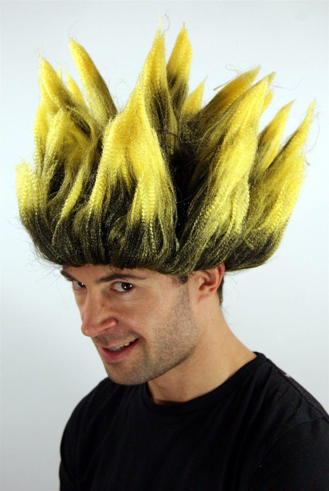 Wig Men/'s Women/'s Carnival Dragonball Demon Loki Mad Scientist Tall Backcombs