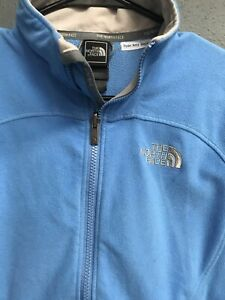 The-North-Face-Woman-s-Zip-Up-Sweatshirt-Size-Small-S-Blue