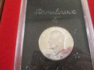 40/% Silver Proof Brown Box 1971-S EISENHOWER Dollar