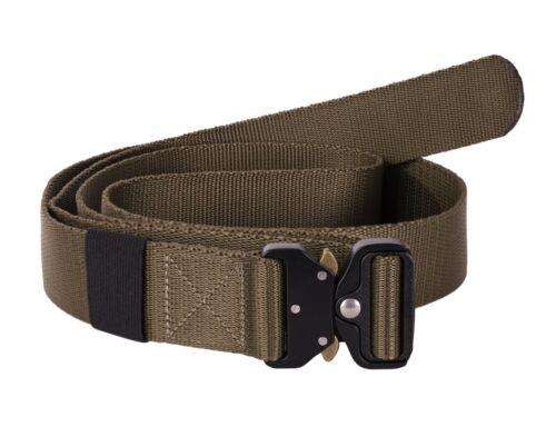 Cintura Militare 4cm Fibbia Metallo Heavy Duty cintura TATTICO 140cm a 180cm