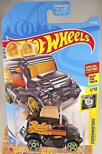 2019 Hot Wheels #24 Experimotors Roller Toaster gold Kroger Exclusive