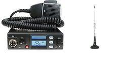 Cb Radio Multi-Standard Tti Tcb-565 Compact Mobile 12/24V + Cb Antenna Canva 100