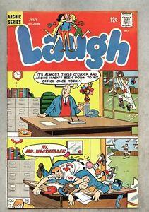 Laugh-Comics-208-1968-vg-Archie-Little-Jinx