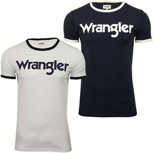 WRANGLER-034-Kabel-Tee-039-T-shirt-a-manches-courtes