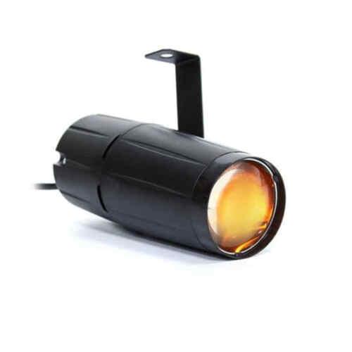 Mini Punktstrahler LED Pin Spot PAR Scheinwerfer Disco Spiegelkugel Beam Effekt