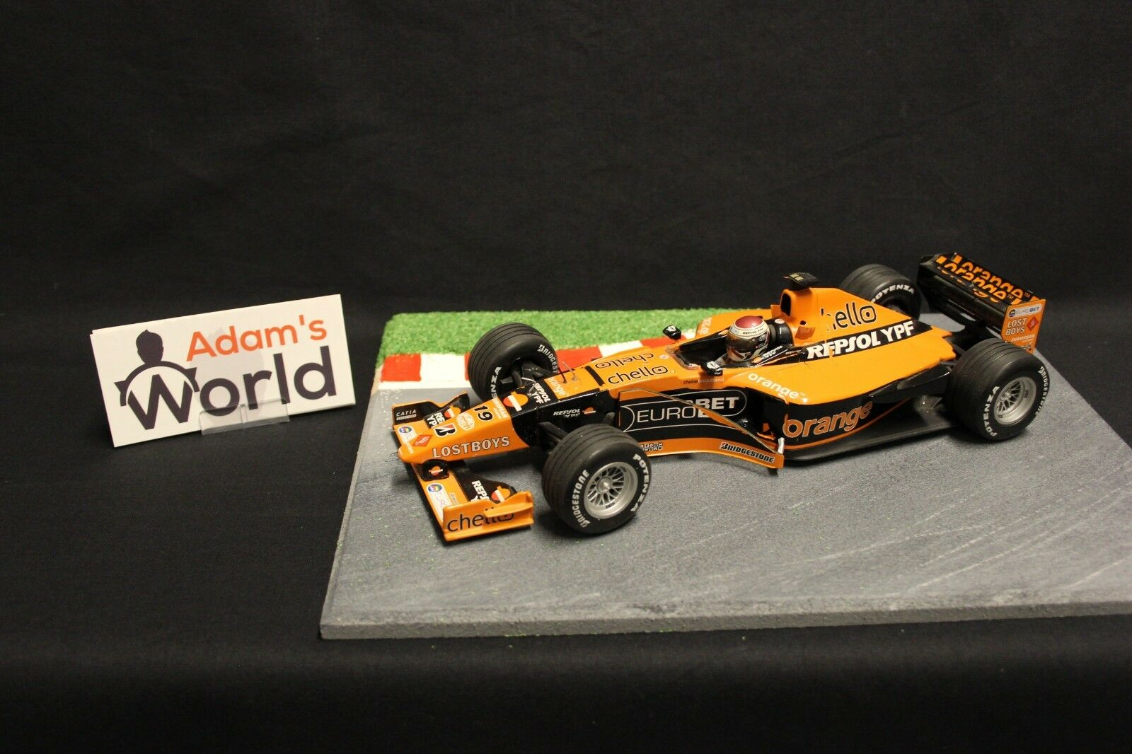Minichamps Arrows Supertec A21 2000 1 18 Jos Verstappen (NED) (F1NB) bs