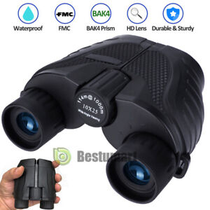 10x25-Folding-Binoculars-BAK-4-Night-Vision-Small-in-the-Hand-Hiking-High-Power