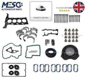 Conjunto-Completo-De-Motor-reconstruir-amp-cabeza-junta-conjunto-Ford-Transit-MK6-2000-2006-2-4